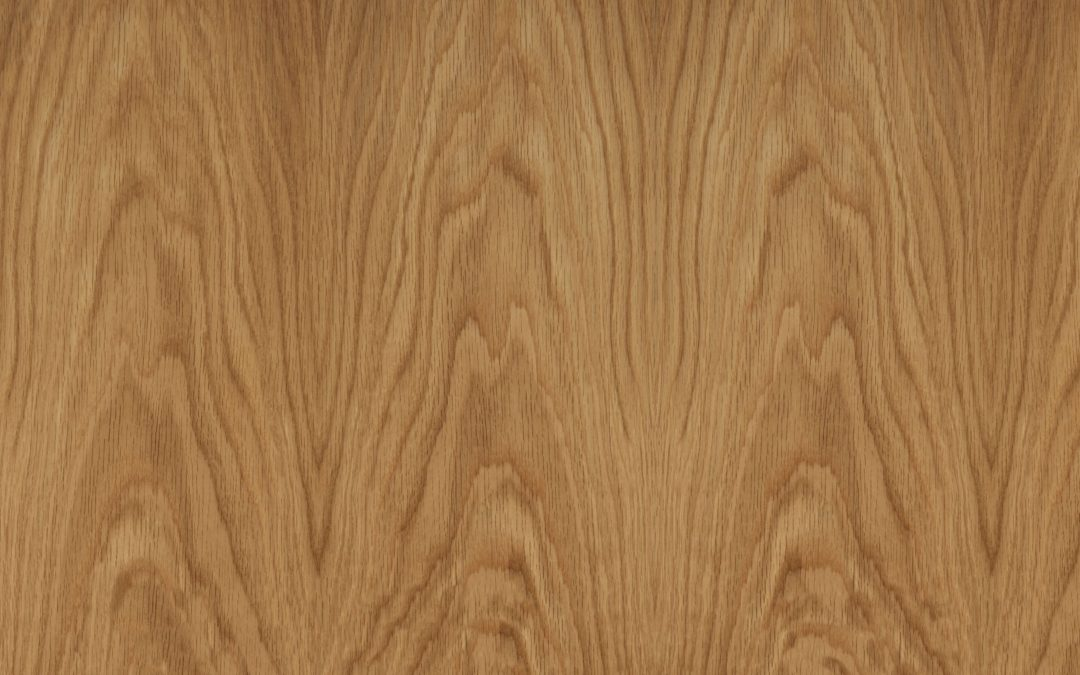 American White Oak Crown Cut 1F1B on 18mm MDF